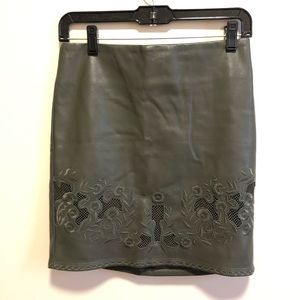NWT Romeo+Juliet Couture | Faux leather skirt